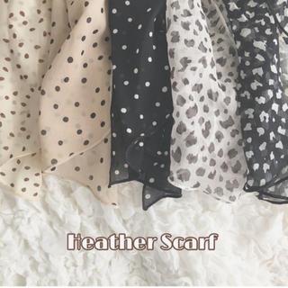 ヘザー(heather)のヘザースカーフ(バンダナ/スカーフ)