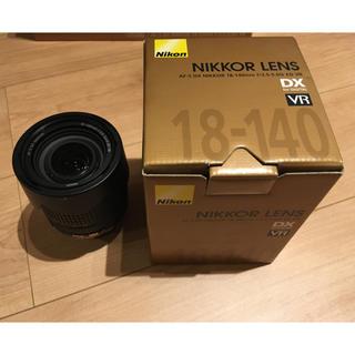 ニコン(Nikon)のNikon AF-S DX 18-140F3.5-5.6G ED VR(レンズ(ズーム))