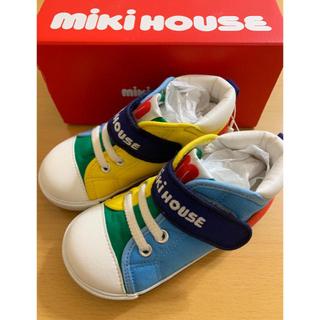 mikihouse - ミキハウス  靴  15cm  サックス