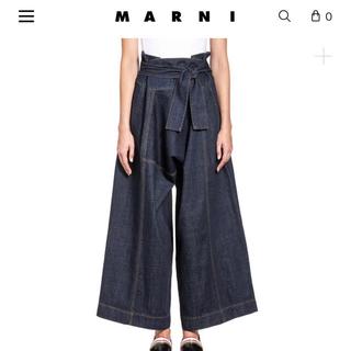 Marni - marni デニム フレア 定価9万