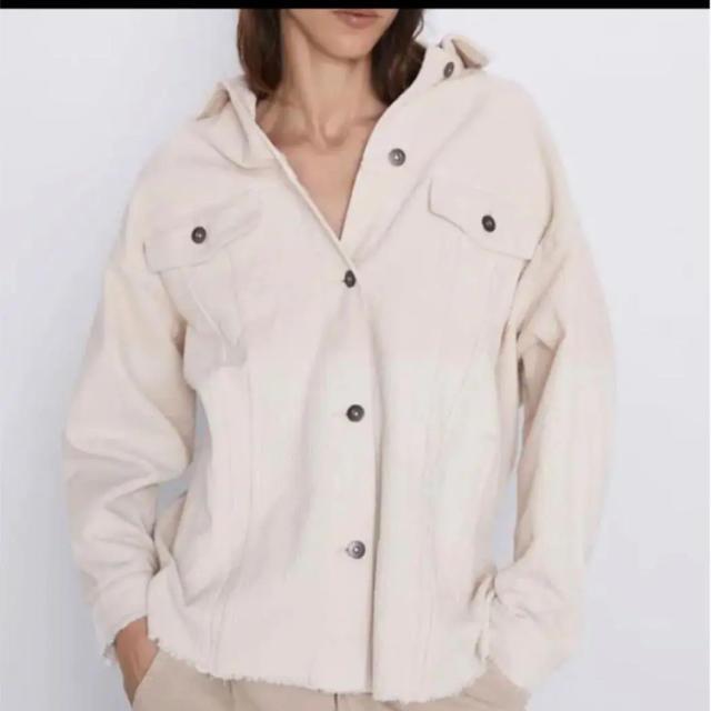 ZARA(ザラ)の☆まろん1054様専用☆ZARA コーデュロイジャケット レディースのジャケット/アウター(その他)の商品写真