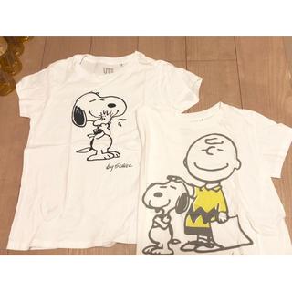 UNIQLO - ユニクロ スヌーピー Tシャツ2枚セット Mサイズ