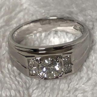 ダイヤモンド  0.72ct  ホワイトゴールド(リング(指輪))