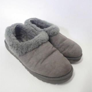 アグ(UGG)のUGG アグ オーストラリア ムートン ショート ブーツ グレー シープスキン(ブーツ)