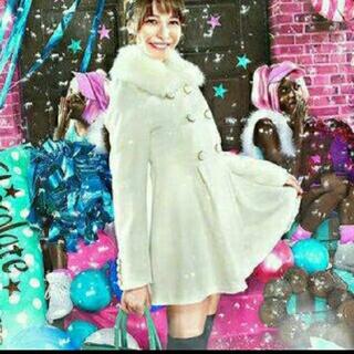 グレイル(GRL)のGRL 藤井リナちゃん着用 ファーコート 新品タグ付き(毛皮/ファーコート)