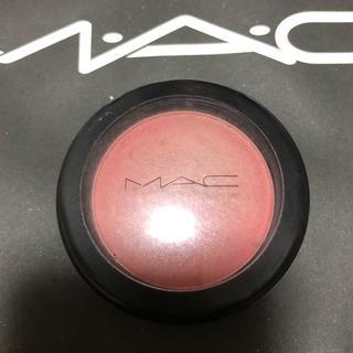 MAC - mac パウダーブラッシュ フランクリースカーレット