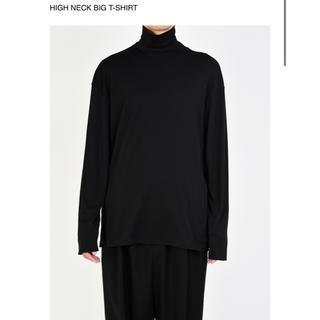 ラッドミュージシャン(LAD MUSICIAN)のHIGH NECK BIG T-SHIRT 19aw 新品(Tシャツ/カットソー(七分/長袖))