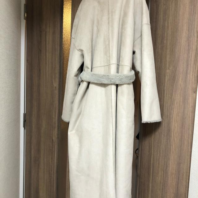 Ameri VINTAGE(アメリヴィンテージ)のアメリヴィンテージ フェイクムートンコート レディースのジャケット/アウター(ロングコート)の商品写真