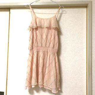 MERCURYDUO - マーキュリーデュオ  新品タグ付き ビーズミニワンピース ドレス