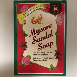 シンガポール土産 Mysore Sandal Soap(ボディソープ / 石鹸)