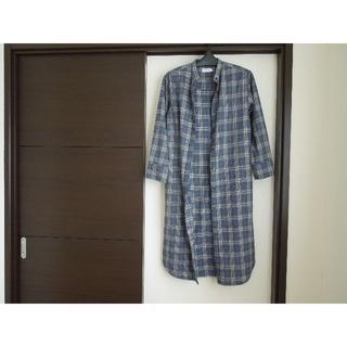 レプシィム(LEPSIM)のシャツ ワンピース チェック レプシィム フリーサイズ(ロングワンピース/マキシワンピース)