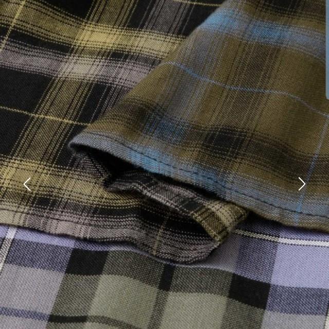 KBF(ケービーエフ)のKBF  MIXチェックフレアスカート レディースのスカート(ロングスカート)の商品写真