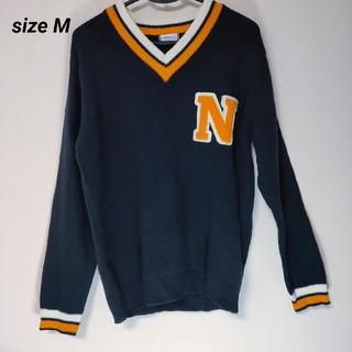 ウィゴー(WEGO)のBROWNY ニット  セーター  長袖  Mサイズ(ニット/セーター)