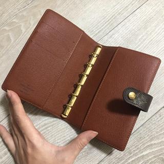LOUIS VUITTON - LOUIS VUITTON ルイヴィトン 手帳カバー モノグラム