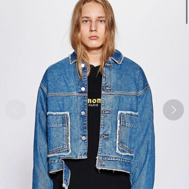 Jieda(ジエダ)のJieDa 18aw デニムジャケット かなまる様専用 メンズのジャケット/アウター(Gジャン/デニムジャケット)の商品写真