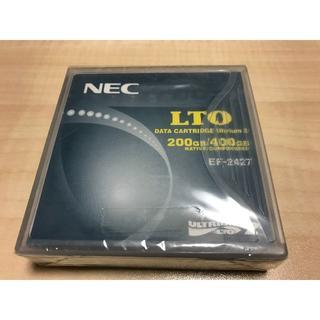 エヌイーシー(NEC)のNEC LTO Ultrium2  200 / 400GB データカートリッジ(PC周辺機器)