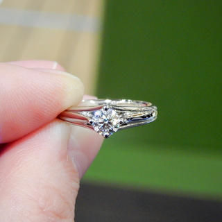 Tiffany & Co. - 《LAZARE DIAMOND》最高位Dカラー,VVS1,最高位カットH&C