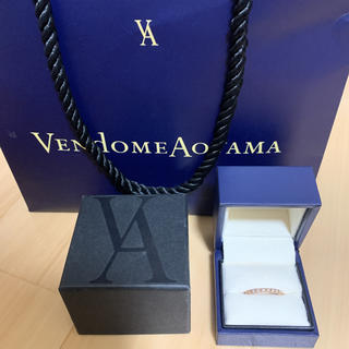 ヴァンドームアオヤマ(Vendome Aoyama)のダイヤモンドリング(リング(指輪))