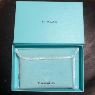 ティファニー(Tiffany & Co.)のTiffany & Co レザー ケース (名刺入れ/定期入れ)