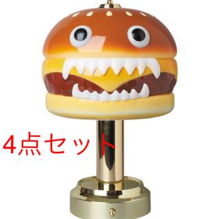 メディコムトイ(MEDICOM TOY)の4点セット UNDERCOVER HAMBURGER LAMP(その他)