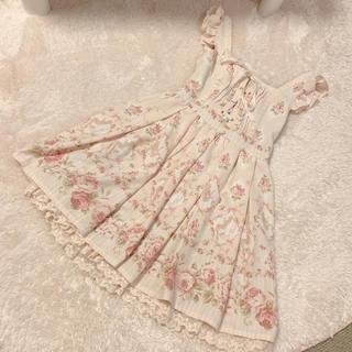リズリサ LIZ LISA 花柄 ワンピース ピンク