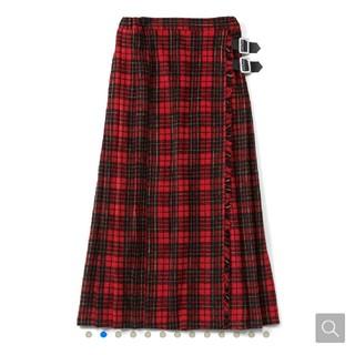 フェリシモ(FELISSIMO)の未使用リブインコンフォート ロングスカート(ロングスカート)