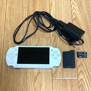 PlayStation Portable - PSP 3000 本体 ホワイト ケース・おまけ付き