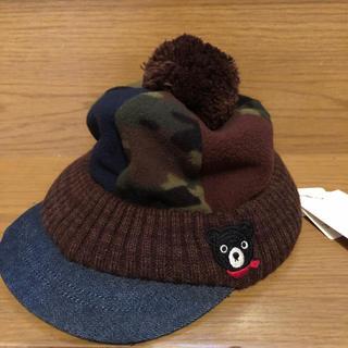 DOUBLE.B - 新品 ダブルビー  ミキハウス タグ付き 帽子 オスロキャップ