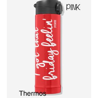 ヴィクトリアズシークレット(Victoria's Secret)のヴィクトリアシークレットPINKコラボTHERMOS!水筒新作(タンブラー)