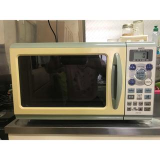 サンヨー(SANYO)のSANYO EMO-S8(A) 2005年製 リコール対応済みオーブンレンジ(電子レンジ)