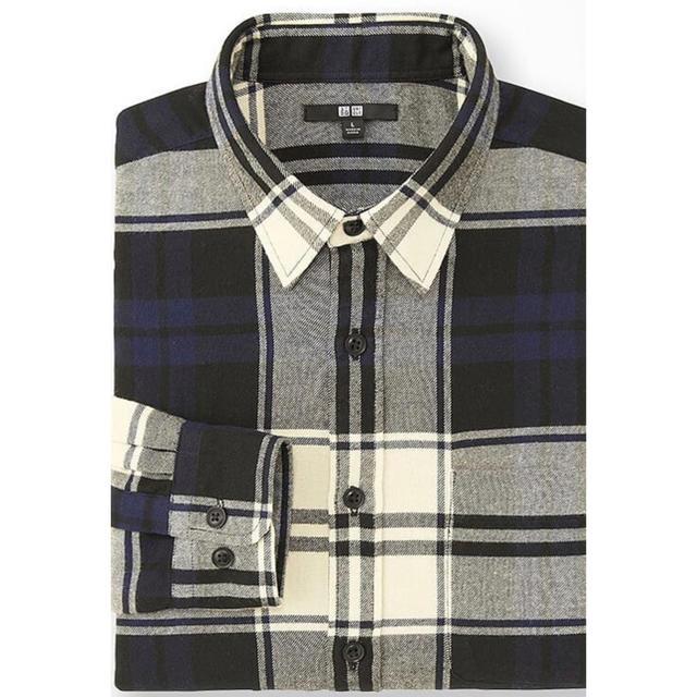 UNIQLO(ユニクロ)のユニクロ UNIQLO フランネルチェックシャツ XL メンズ メンズのトップス(シャツ)の商品写真