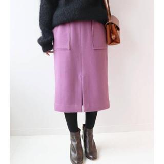 イエナスローブ(IENA SLOBE)のスローブイエナ モッサタイトミモレスカート(ひざ丈スカート)
