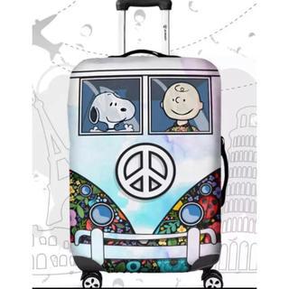 スヌーピー(SNOOPY)のラスト1点 スーツケースカバー スヌーピー  XL(スーツケース/キャリーバッグ)