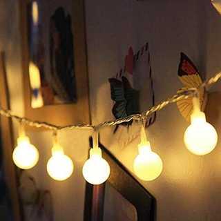 Idealeben ストリングライト 防水 40球 4.3m 飾りライト LED