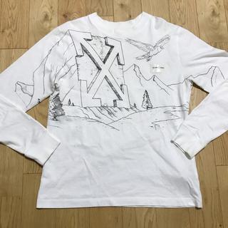 OFF-WHITE - 【定価4.8万19ss】off-white オフホワイト 長袖 ロンT トップス