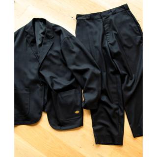 BEAMS - TRIPSTER Dickies Wool Jacket & Pants 黒 M