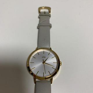 ete - ete  上質⭐︎腕時計 ビッグフェイス