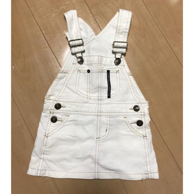 BREEZE(ブリーズ)のジャンパースカート キッズ/ベビー/マタニティのキッズ服女の子用(90cm~)(スカート)の商品写真