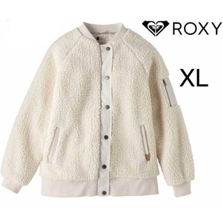 Roxy - ☆タグ付き新品☆ロキシー ROXY ボア素材 ブルゾン LL(XL)