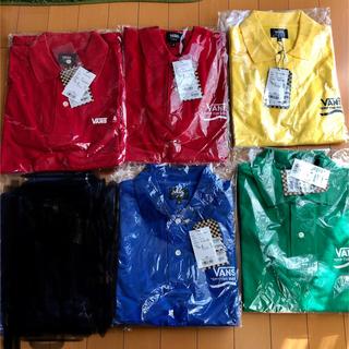 VANS - 激安!定価7800円 VANS  ポロシャツ 新品タグ付 各サイズ有り