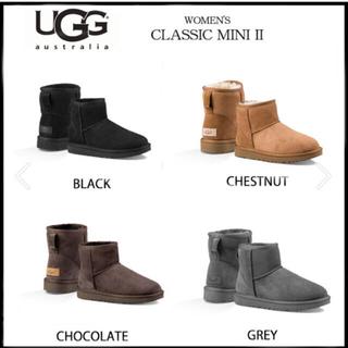 UGG - 最新UGGクラシックミニ2black 23cm 正規品 ムートンブーツ
