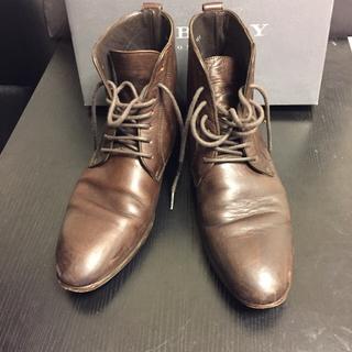 バーバリーブラックレーベル(BURBERRY BLACK LABEL)のバーバリー 革靴 ブーツ BURBERRY(ドレス/ビジネス)