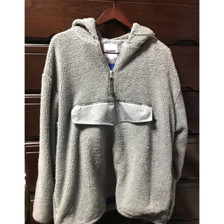 XLARGE - エクストララージ  BOA FLEECE PULLOVER JACKET 灰色L
