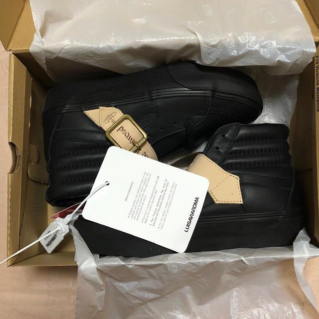 Vivienne Westwood(ヴィヴィアンウエストウッド)の超希少!VANS×VIVIENNE WESTWOOD SK8-HI レディースの靴/シューズ(スニーカー)の商品写真