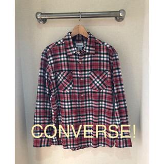 コンバース(CONVERSE)の【古着1 点物!】コンバース チェックシャツ(シャツ)