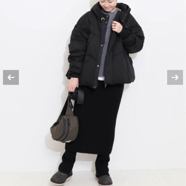 DEUXIEME CLASSE(ドゥーズィエムクラス)の【新品タグ付き】CAPRI RIB レギンス&スカートセット ブラック レディースのレッグウェア(レギンス/スパッツ)の商品写真
