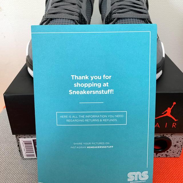 NIKE(ナイキ)の[28cm]美品 NIKE エアジョーダン 4 クールグレイ 2019 メンズの靴/シューズ(スニーカー)の商品写真
