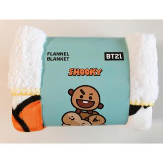 防弾少年団(BTS) - 【SHOOKY】 BT21 モコモコブランケット 膝掛け 公式