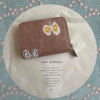 mina perhonen - 682*現品  ハーフ財布 コインケース ♡ミナペルホネン