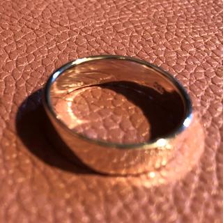 平打ち シルバー925 リング  24号メンズギフト銀大きいサイズシンプル 指輪(リング(指輪))
